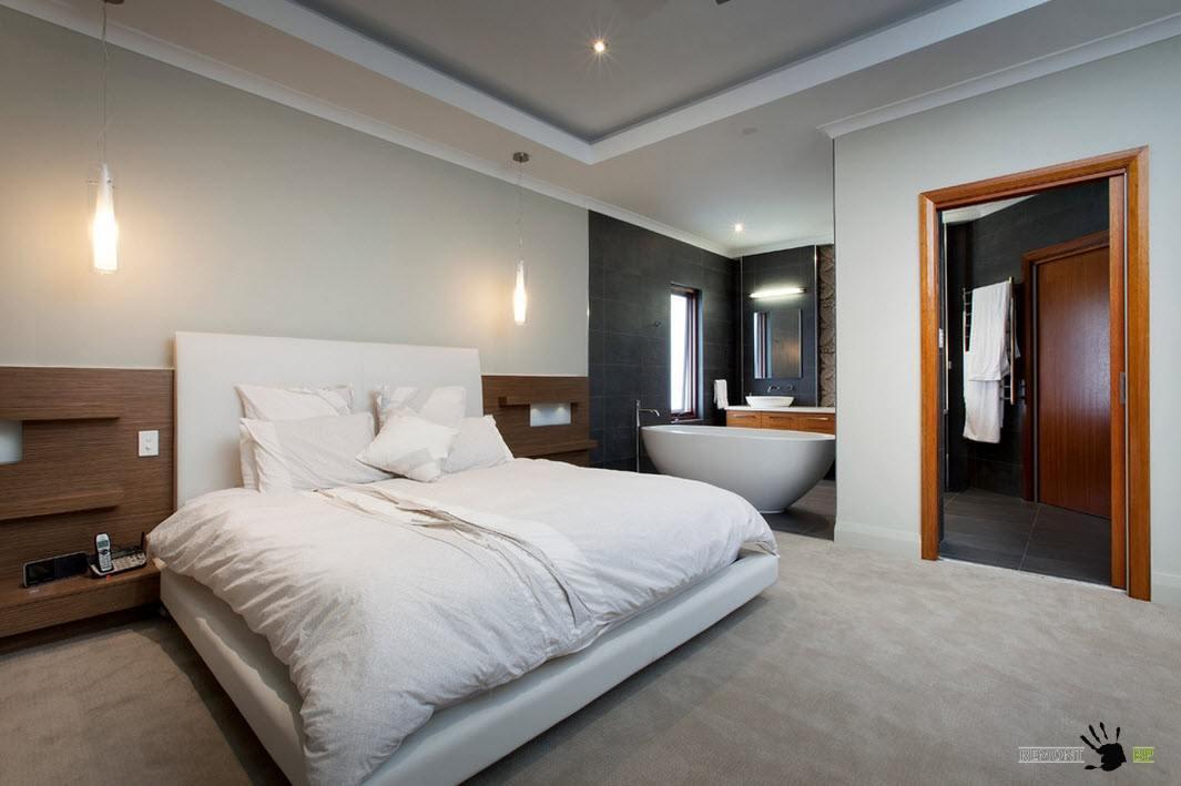 Спальня+ванная