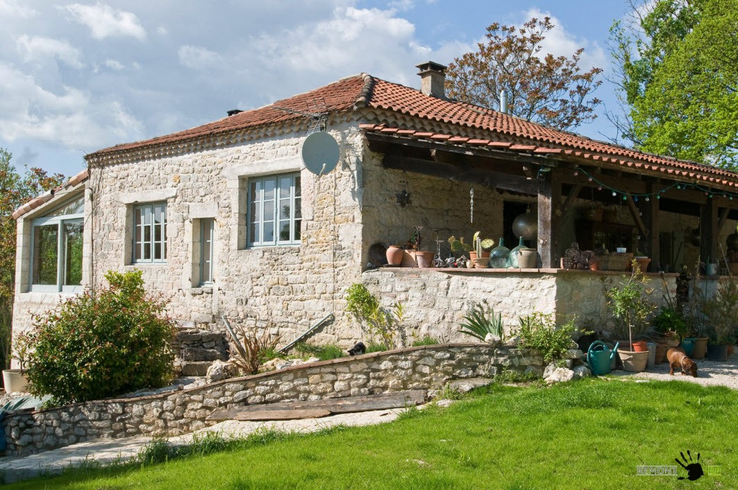 French provence style homes