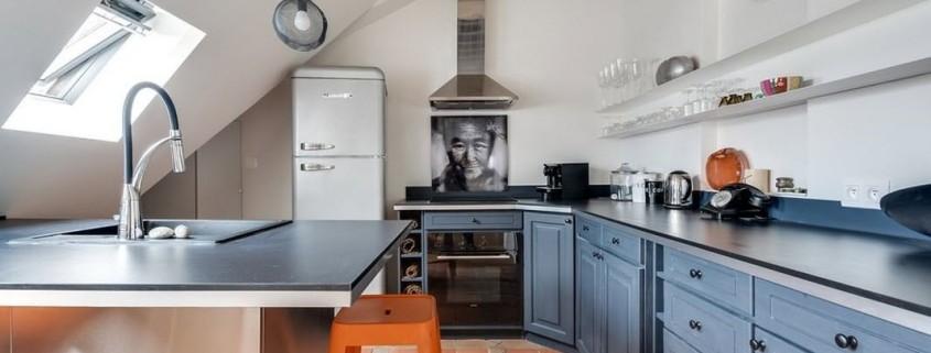 Квартира-мансарда в Париже