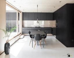 Интерьер немецкого минималистского дома