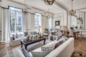 Классический дизайн лондонской квартиры