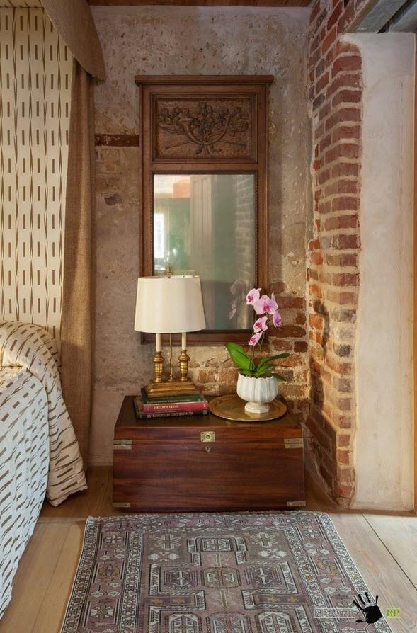 Дизайн проект роскошного загородного дома из дерева и камня
