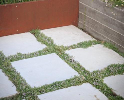 Площадки из бетонной плитки