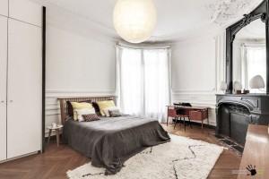 Уютная светлая спальня