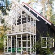 Двухэтажный дом в Московской области