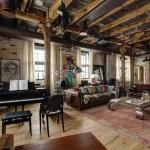 Уникальный дизайн московской квартиры в стиле лофт