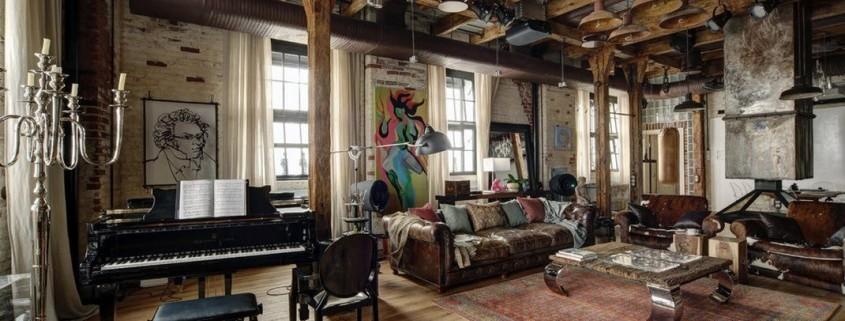 Нетривиальный дизайн московской квартиры