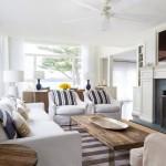 Дизайн-проект дома в морском стиле