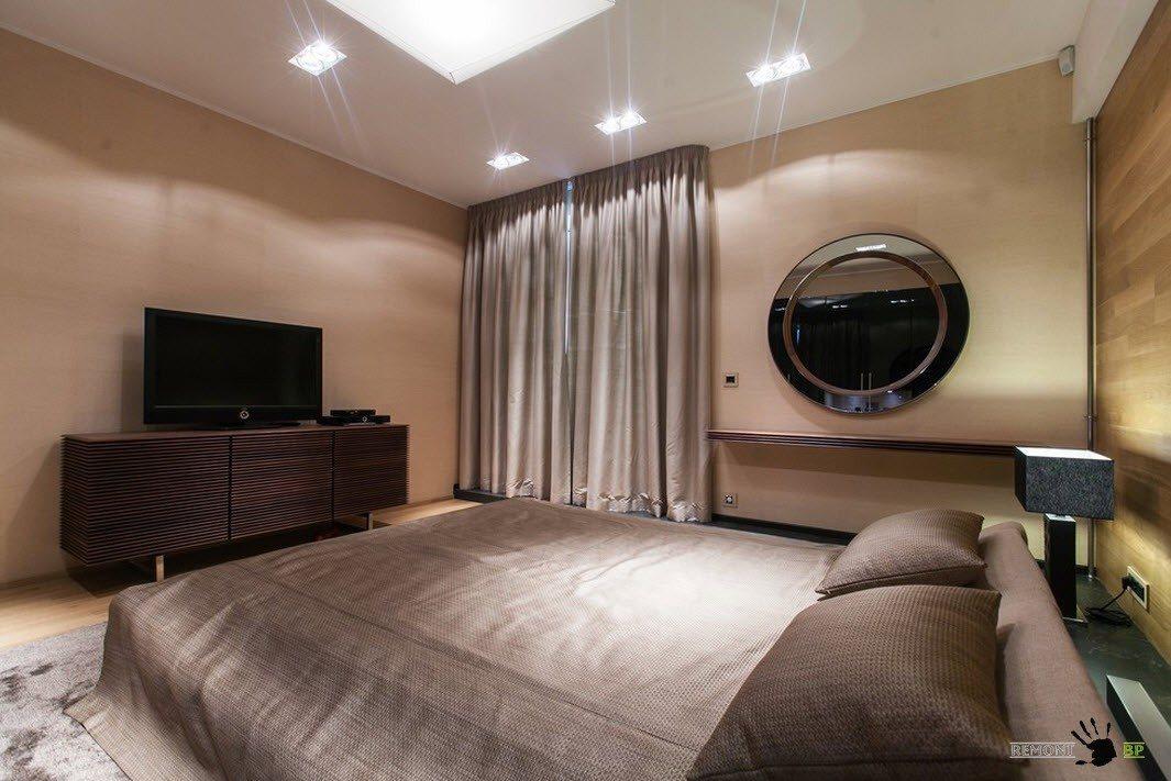 Видео-зона в спальне