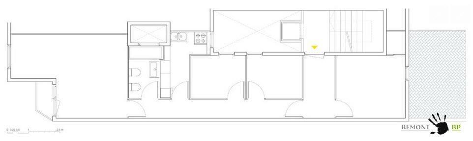 Схема квартиры в Барселоне