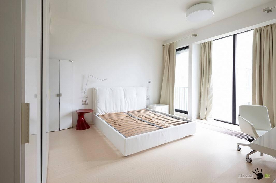 Білосніжна спальня