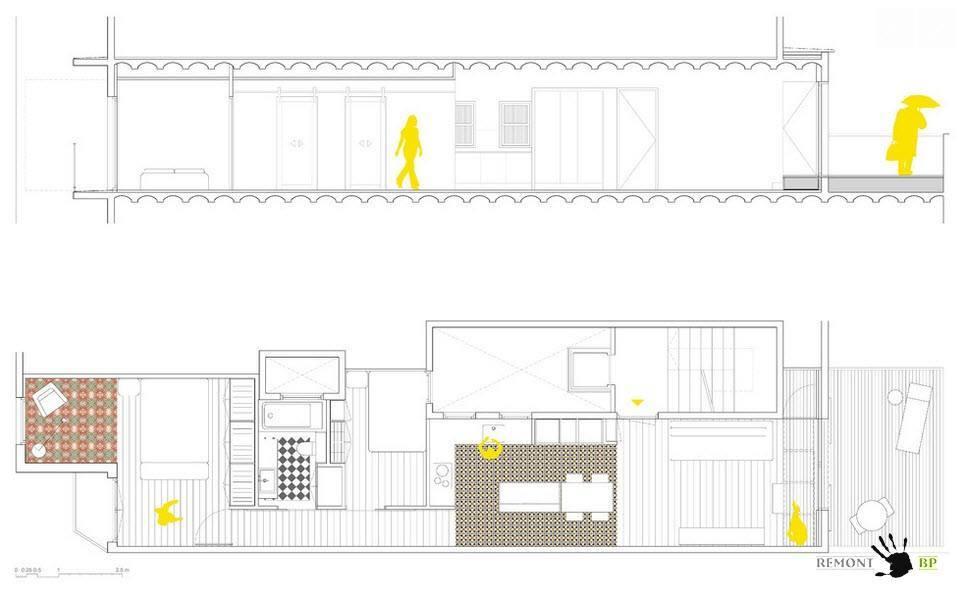 План-схема апартаментов