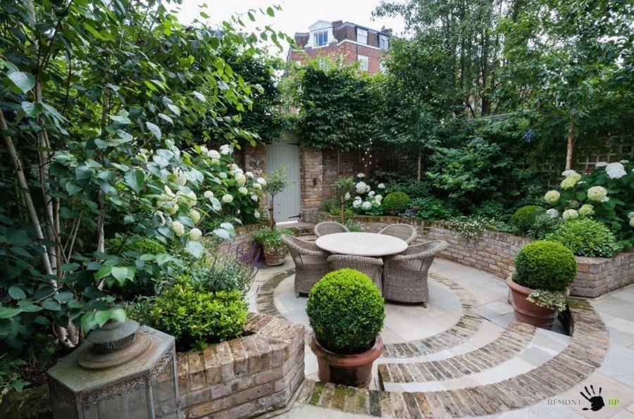 Зеленый дворик - актуальные идеи ландшафтного дизайна - mirelit