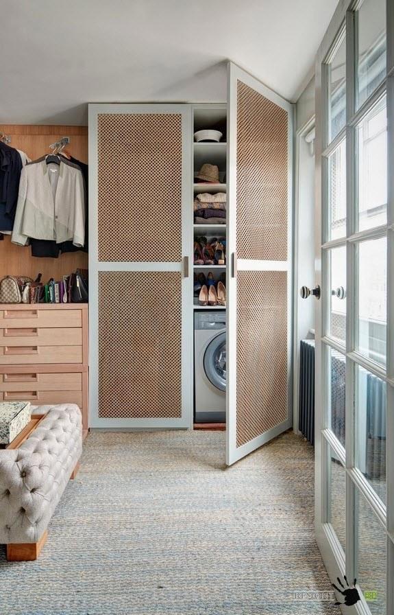 Системы хранения для квартиры в стиле лофт