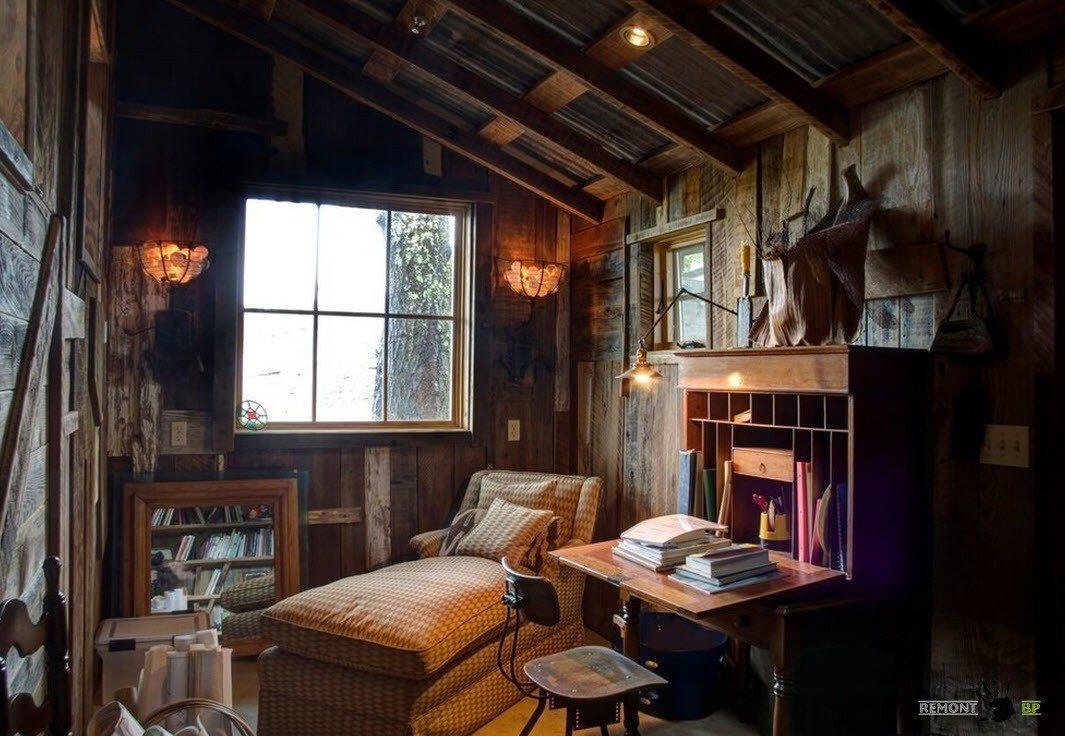 Комната отдыха и работы
