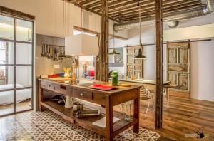 Индустриальный стиль в интерьере квартиры