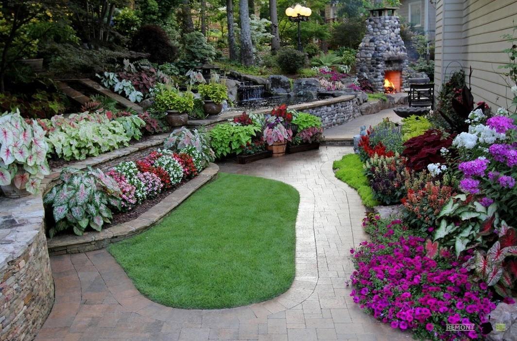 Цветы и растения для ландшафтного дизайна