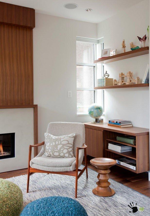 Уютный уголок в современном стиле