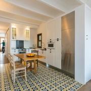 Кухня в испанской квартире