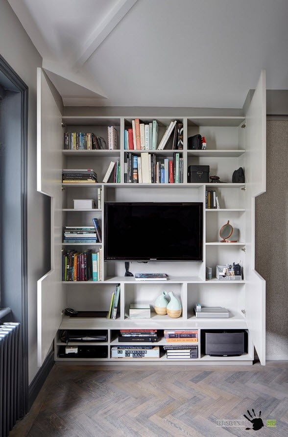 Удобная система хранения в стиле лофт