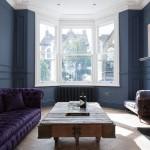 Дизайн-проект лондонского частного дома с миксом стилей в оформлении