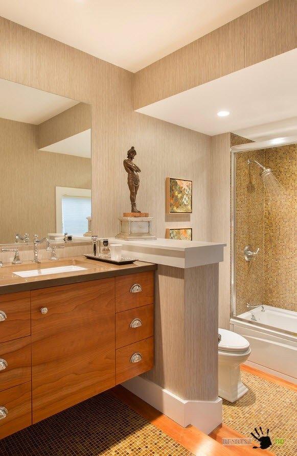 Песочная палитра ванной