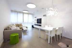Белоснежный дизайн московской квартиры