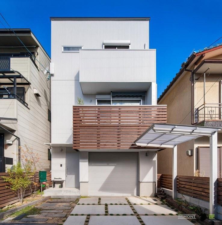 Фасад японского жилища