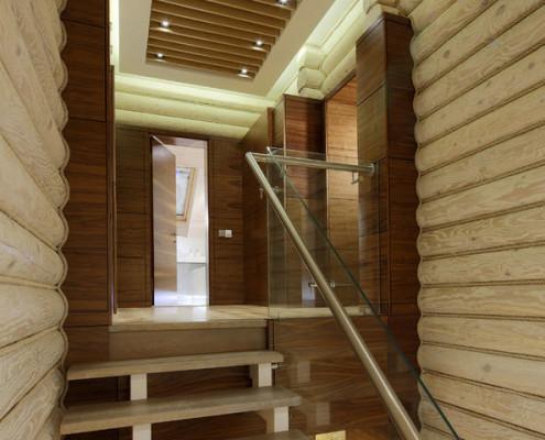 Современный стиль в исполнении лестницы