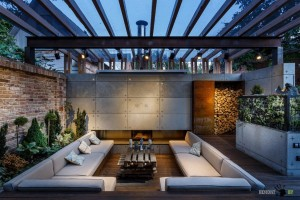 Организация зоны отдыха в частном дворе