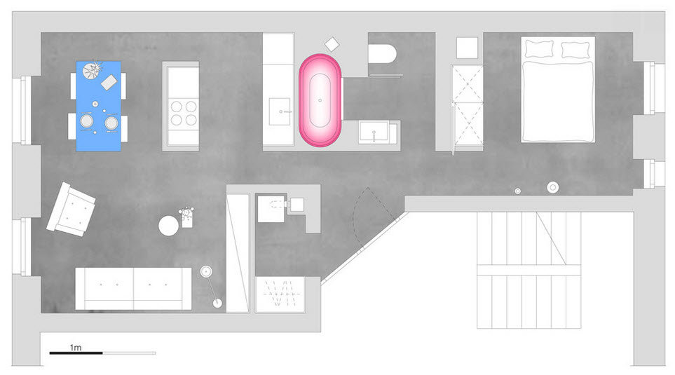 План квартиры в Германии