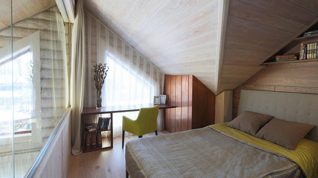 Сложная геометрия комнаты