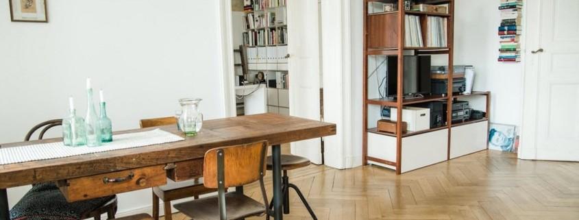 Ретро-дизайн берлинской квартиры