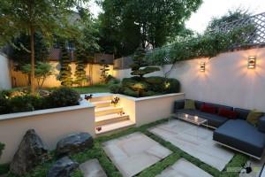 Ландшафтный дизайн японского дворика