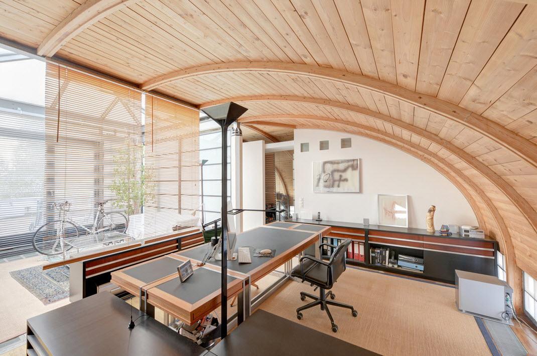 Необычный дизайн кабинета