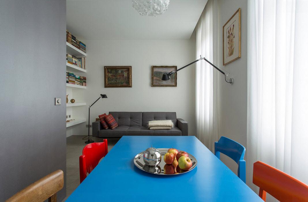 Дизайн проект небольшой квартиры 44 кв