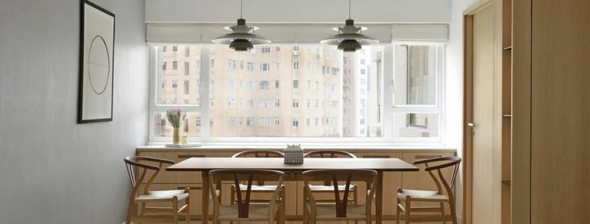 Светлый интерьер современной квартиры