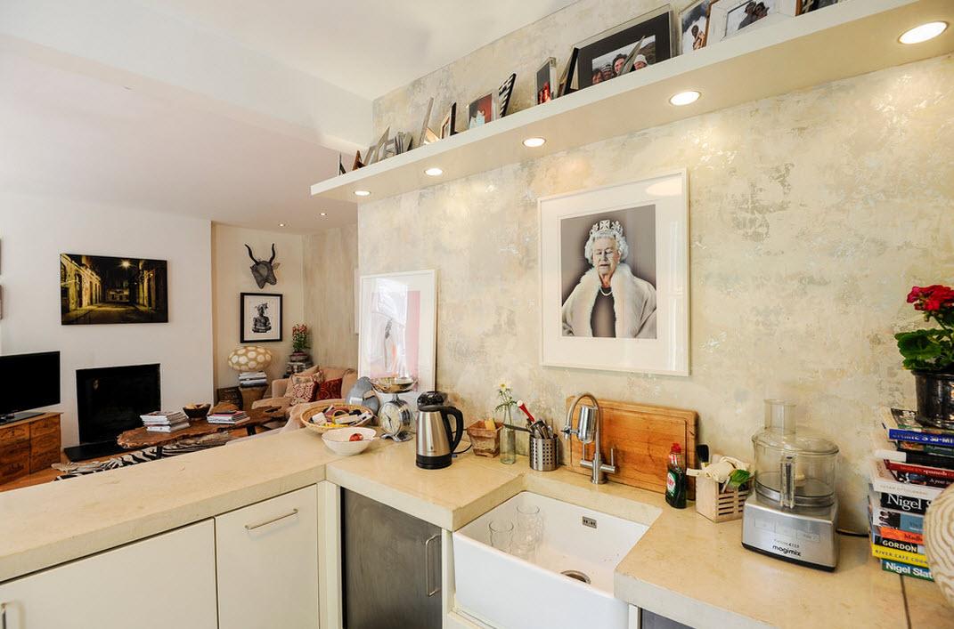 Экклюзивный и необычный интерьер квартиры в Лондоне