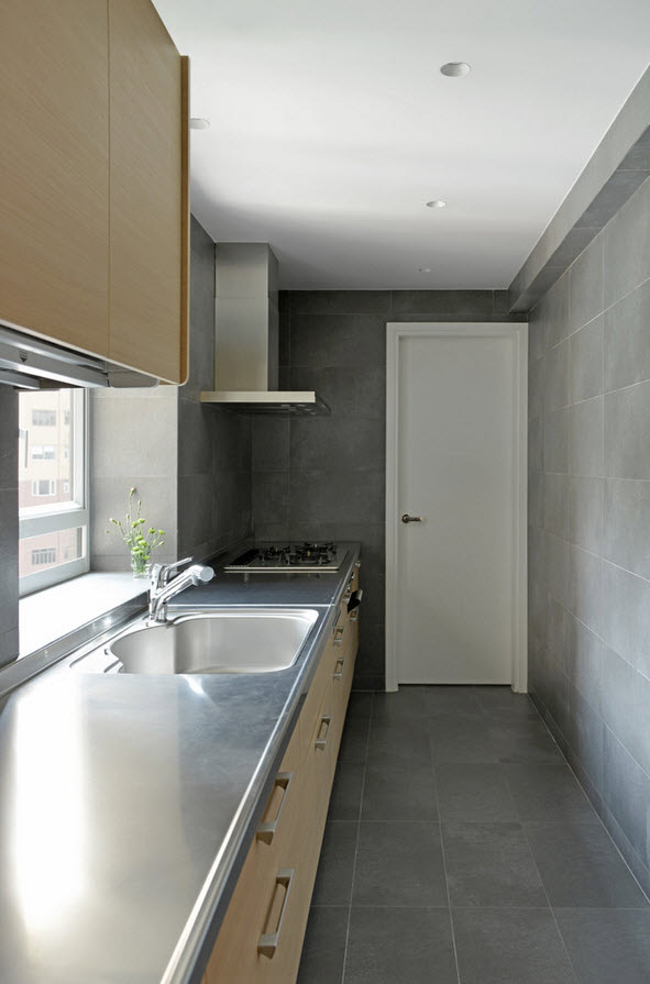 Интерьер кухонного помещения