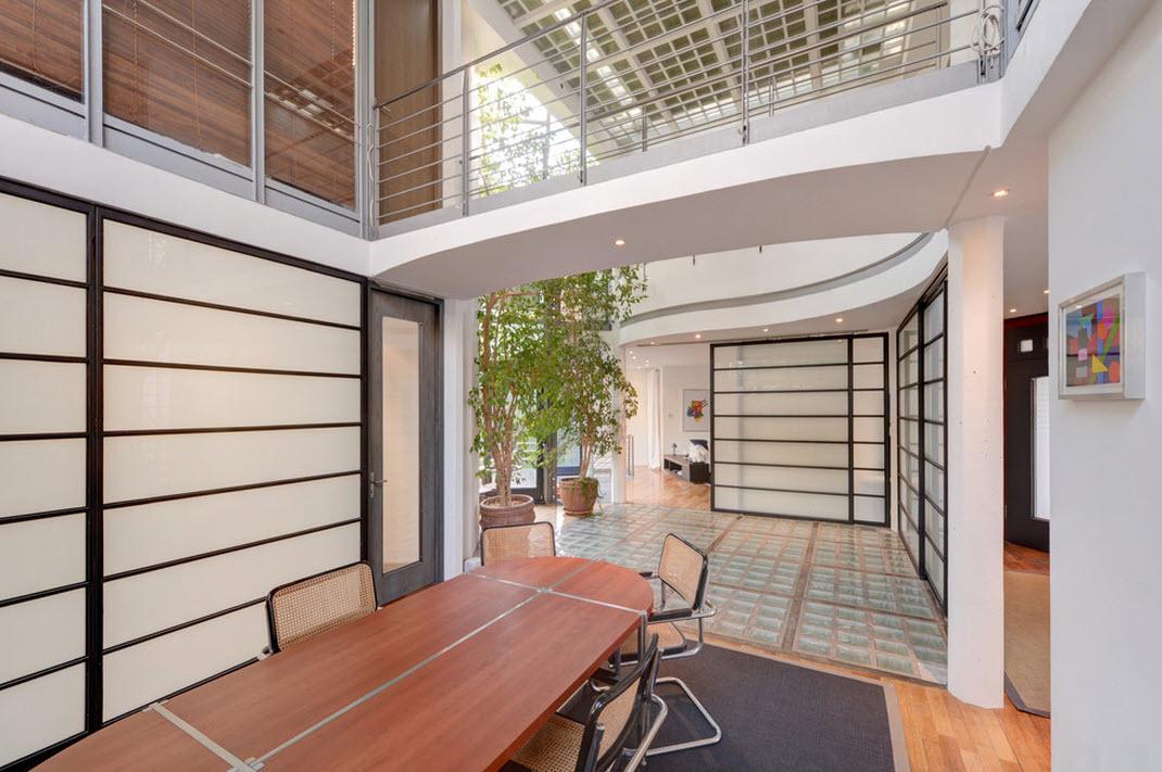 Офисные мотивы оформления жилых помещений
