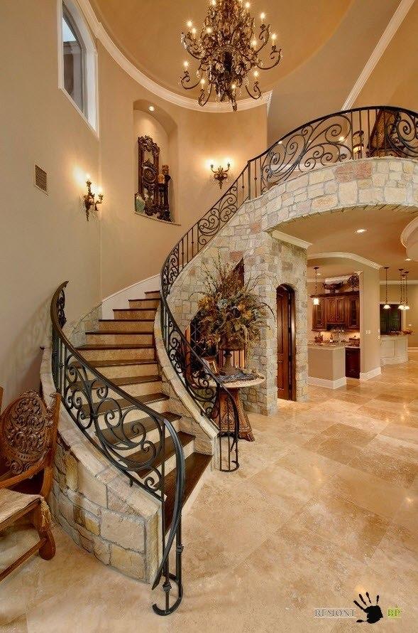 Роскошный дизайн лестницы