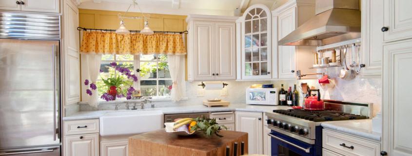 Шебби шик для современной кухни