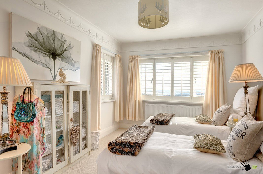 Спальня на два спальных места