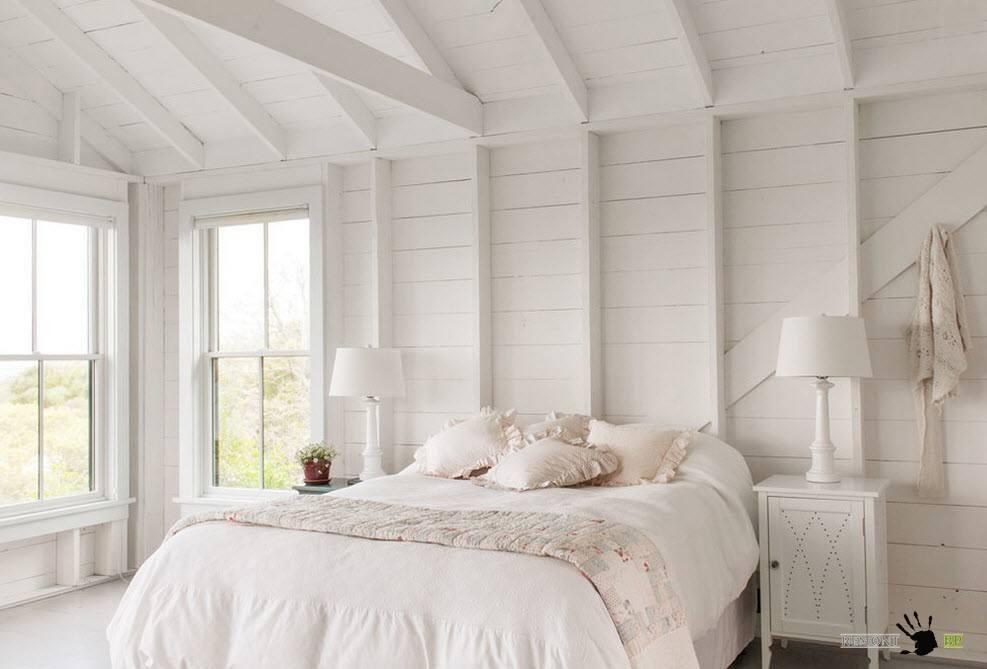 Белая покраска для деревянных поверхностей