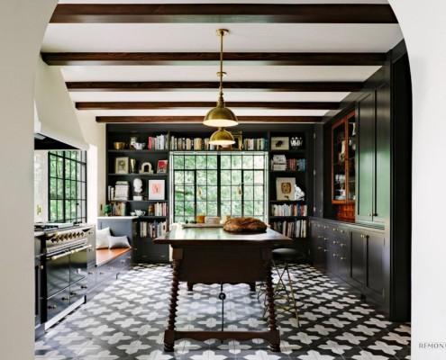Современный дизайн плитки для кухонного помещения