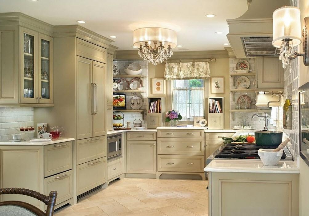 Роскошные светильники для кухонного помещения
