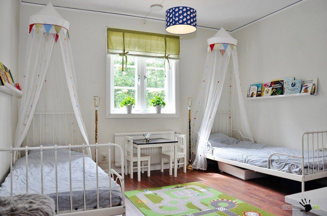 Комната с двумя спальными местами