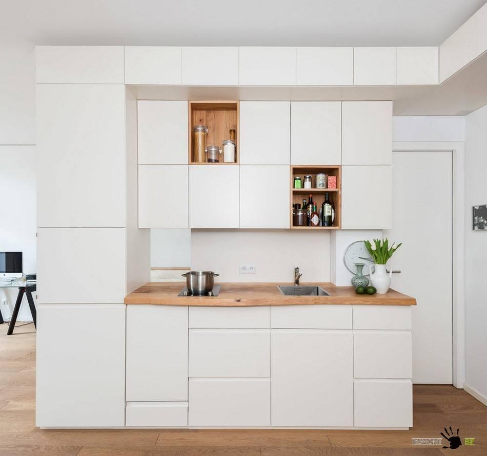Кухня-модуль для открытой планировки