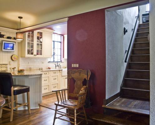 Цвет марсала для кухонного пространства