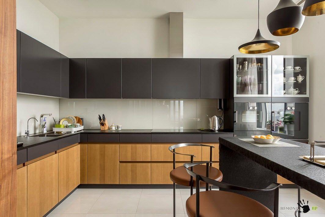 Описание: Динамичный дизайн кухни